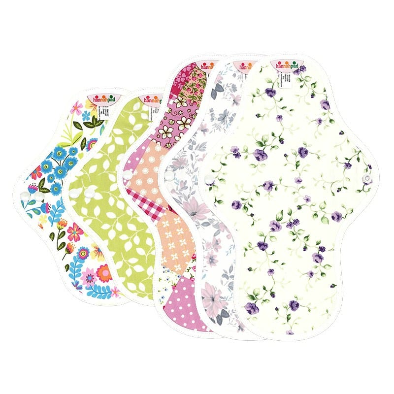 Hannahpad Washable Reuseable Eco Friendly Green Organic Cloth Pads Singapore My First Period Set