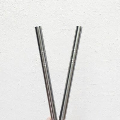 Reusable Safe & Tested Stainless Steel SUS304 & SUS316L Straws available in Singapore at Wellness Within for drinks, smoothies, bubble tea, boba tea, toppings