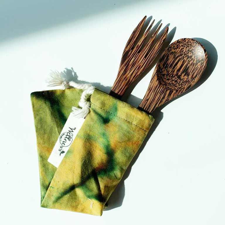 Sustainable Zero Waste Coco Wood BYO Cutlery
