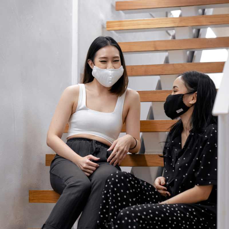Wellness Within GOTS Organic Cotton Face Mask