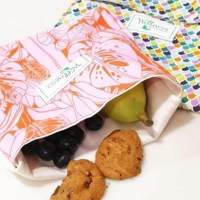 Zero Waste Reusable Waterproof Snack Bag