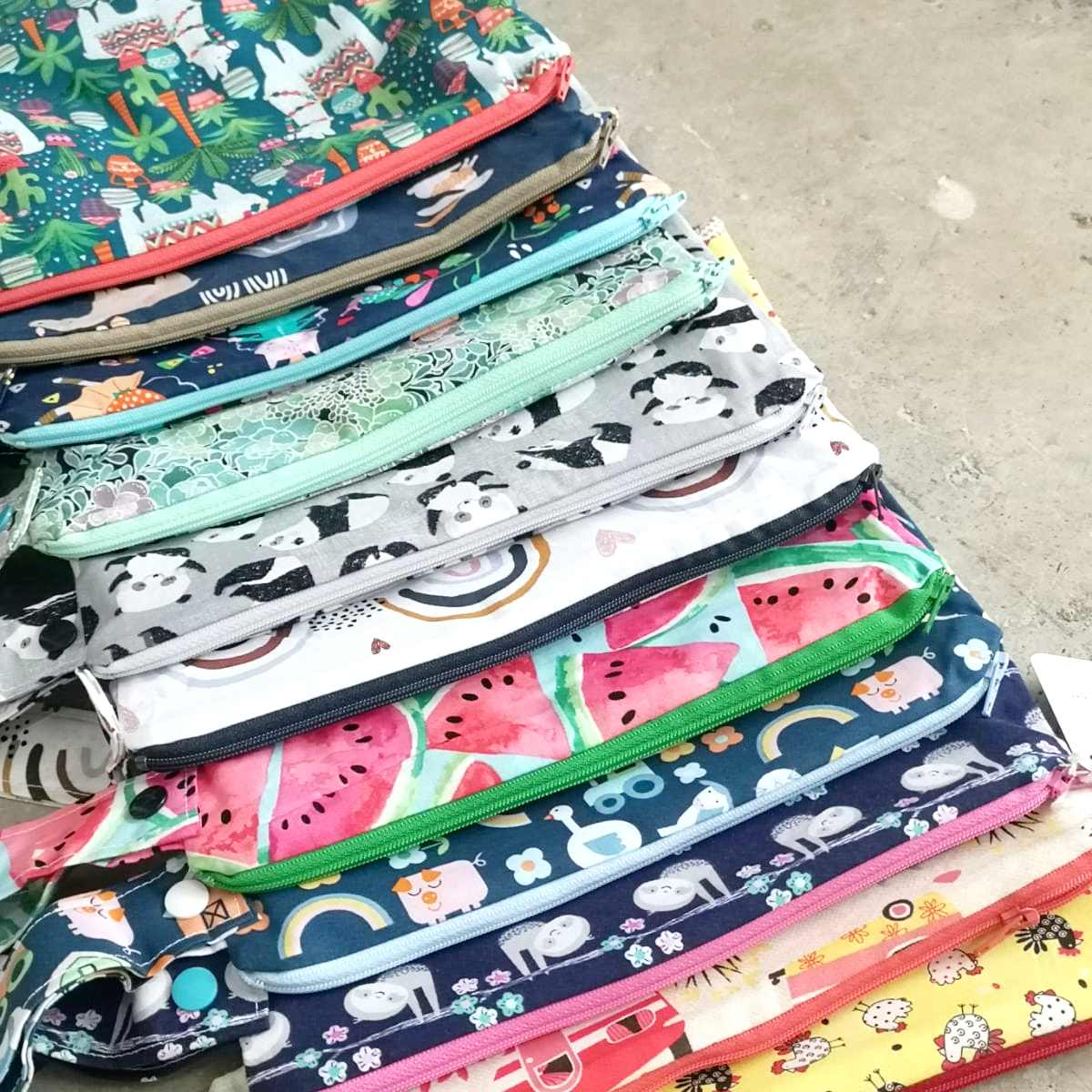 Cotton Fabric Travel Wet Bag