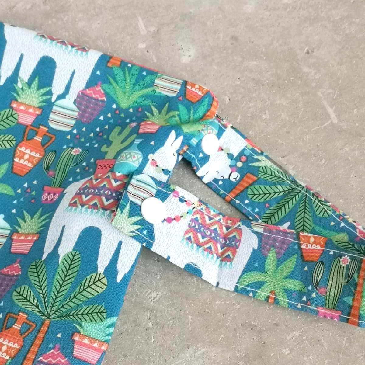Cotton Fabric Travel Wet Bag Detachable Strap